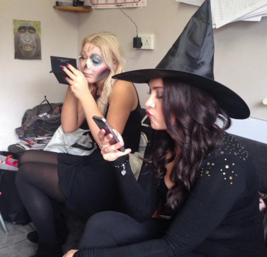 Witches and Ghouls getting ready