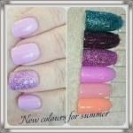 Shellac Colours For Spring