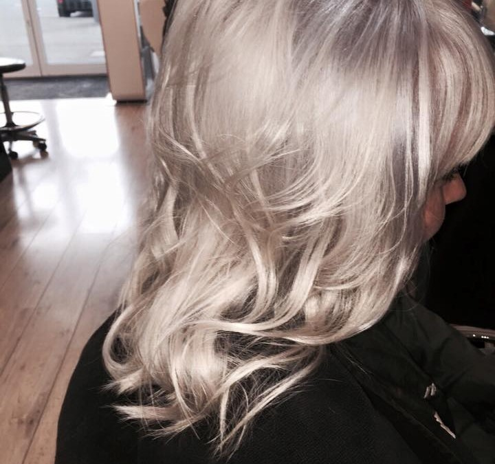 Icy Blonde Colour Wash!
